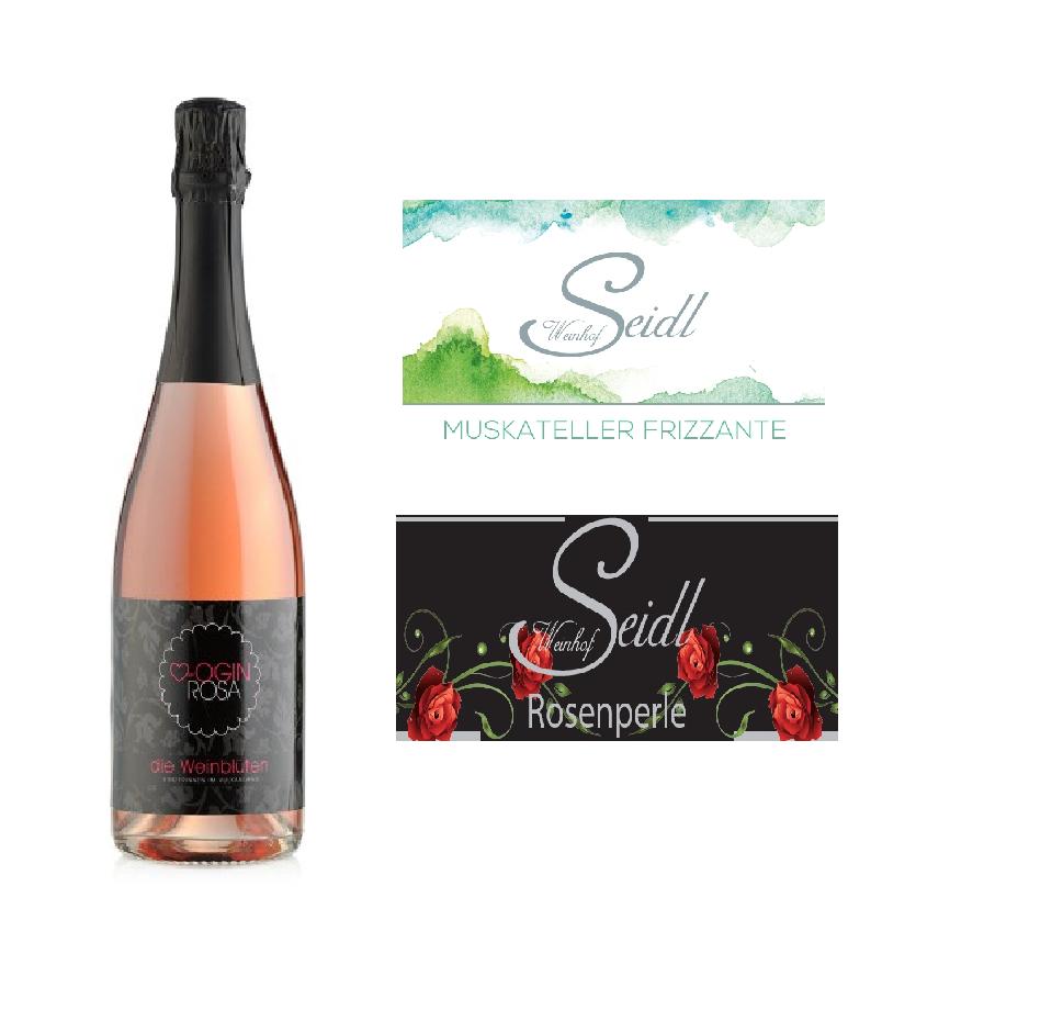 Weintour der Sinne - Frizzante/Sekt Paket